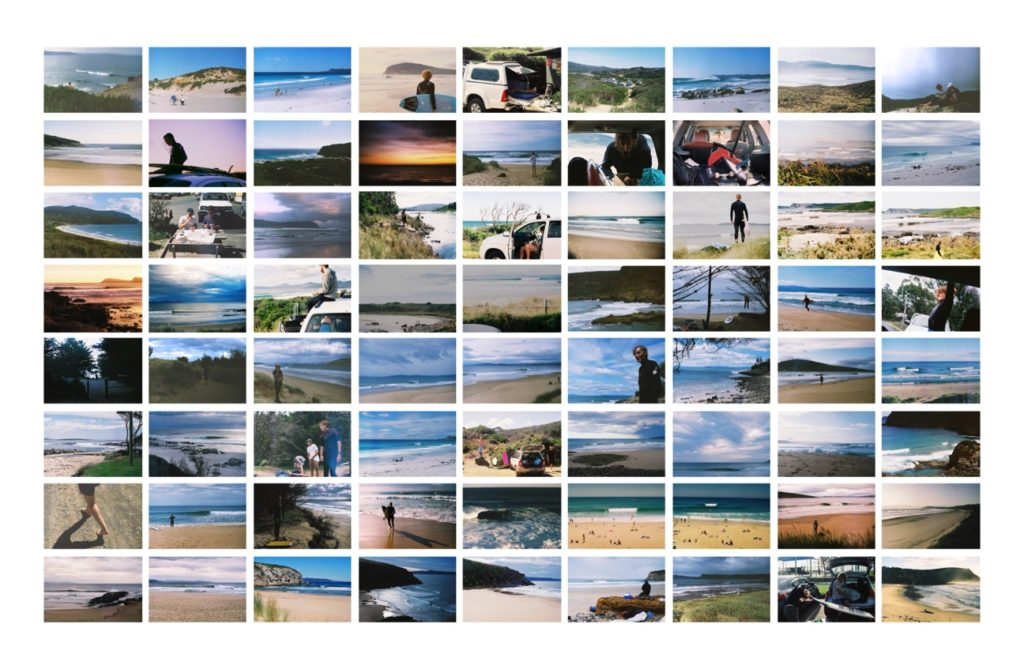 Surf Day Photo Collage